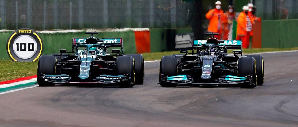 RAVENOL и Aston Martin набирают очки в непредсказуемой гонке в Имоле