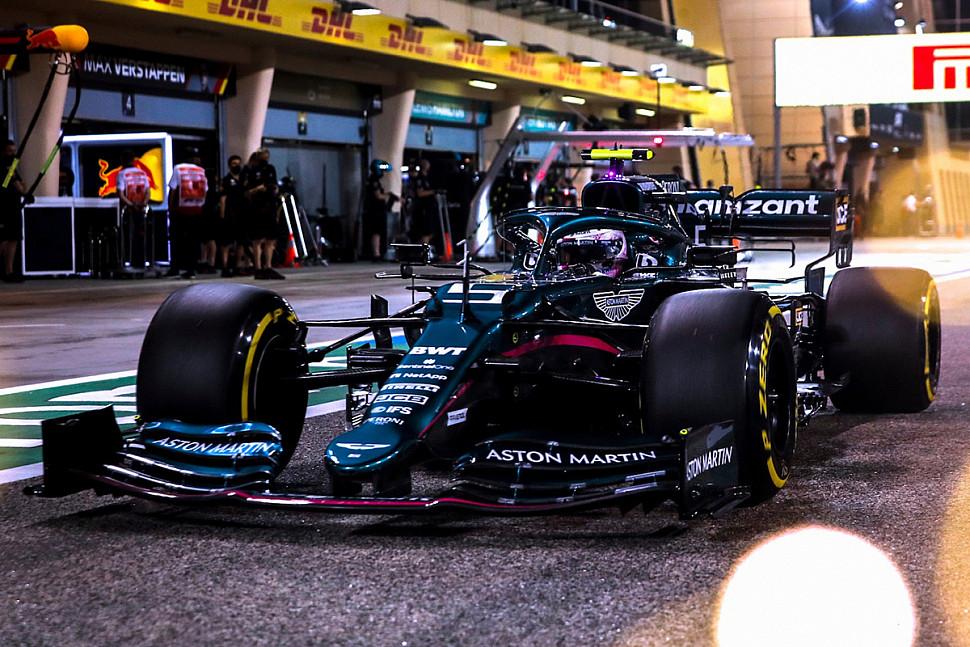 ЛэнсСтролл RAVENOL Бахрейн Formula One